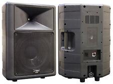 1 New Pyle PPHP1259 500 Watt 12'' 2 Way Full Range Loud PA Speaker System DJ Pro