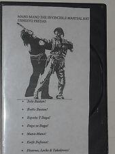 Arnis / Kombatan - Ernesto Presas - 6 Tapes On 1 Dvd -5 Hrs.- Martial Arts - Fma