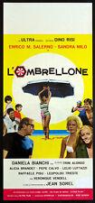 CINEMA-locandina L'OMBRELLONE salerno,milo,bianchi,trieste,sorel,RISI