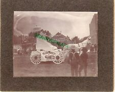 Antique Photo-GreeleyColorado-Parade Lady in Shoe + EGH Kirts Second Hand Store