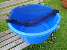 """31"""" Koi Tub / Bowl / Container Cover with Zipper ( NET COVER ONLY )"""