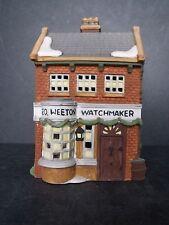 """Dept 56 Dickens' Village """"Geo Weeton Watchmaker"""" - #59269 - New In Box"""