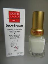 MASTERS COLORS DIAM'SPLASH VERNIS résistant mer et soleil 117 blanc DIAMSPLASH