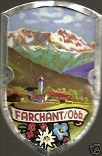 Farchant German stocknagel hiking medallion Mount G3131