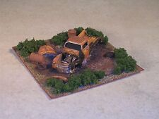 Ho Scale 1951 Rusted out Chevy Pickup Diorama