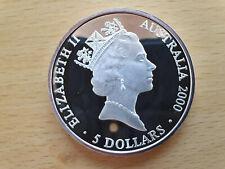 5 Australische Silber Dollar Olympia 2000 Sidney Polierte Platte