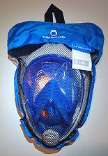THE ORIGINAL Tribord Easybreath snorkeling Mask, BLUE, size S/M, latest batch!