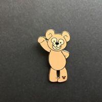 WDW - Hidden Mickey 2007 Series 2 - Disney Bear Waving Disney Pin 56956