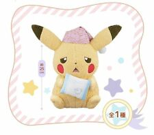Pokemon Pikachu & Friends Ichiban Kuji Utouto Time A Plush doll stuffed toy