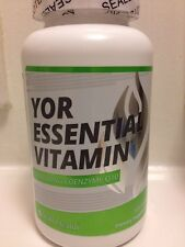 **SALE** YOR Health Essential Vitamin CoQ10 / YORHealth Natural Energy Enzyme