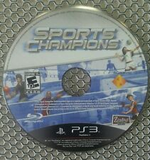 Sports Champions (Sony Playstation 3, 2010) Game Disc Only