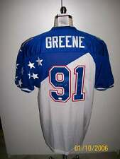 KEVIN GREENE SIGNED 97 NFC PRO BOWL JERSEY RARE! PANTHERS STEELERS HOF16