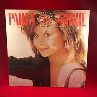 PAULA ABDUL Forever Your Girl 1988 UK vinyl LP + INNER EXCELLENT CONDITION