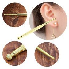 Elastic Copper Auricular Exploration Detection Point Pen Ear Acupressure Massage