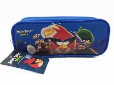 Angry Birds Azul Turquí Lápiz Bolsa con Cremallera Estuche Auténtico Mochila