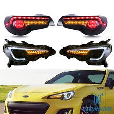 LED Headlights+Tail Lights For Toyota 2013-17 GT-86 & Subaru BRZ & Scion Frs