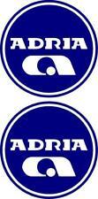 Adria Cercle Caravane Autocollant Décalque Choix de Couleurs #013