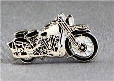 Metal Enamel Pin Badge Brooch Brough Superior Motorbike Ride Vintage Collection