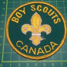 Boy Scouts Canada Scout Badge. Sew On blanket