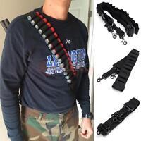 Portable Gun Sling Strap For Shotgun Bullet Shell Holder Nylon Sling Bandolier