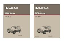 2003 Lexus LX 470 Shop Service Repair Manual Book