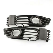 W/Fog Light Hole Pair Bumper Driving Light Front Grill for VW Passat B5 B5.5