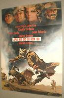 A1.Filmplakat, SPIEL MIR DAS LIED VOM TOD, Sergio Leone ,Henry Fonda,C Cardinale