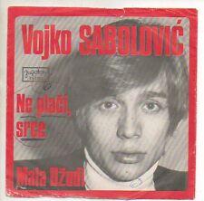 VOJKO SABOLOVIC 45 RPM Record with Picture Sleeve NE PLACI SRCE / MALA DZUDI