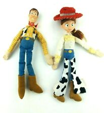 Vintage Woody And Jessie Dolls Non Pull String Toy Story Disney Applause