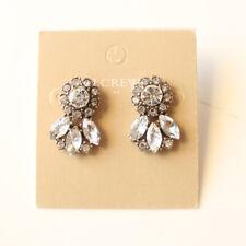 New Jcrew Glass Flower Drop Earrings Gift Fashion Women Party Holiday Jewelry FS