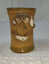 Vintage Sillyface Native American Handmade Mug Signed
