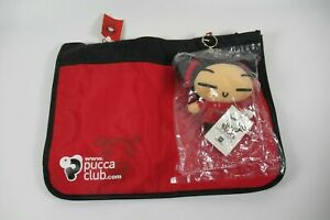 Pucca Club Funny love Satchel bag with plush key chain