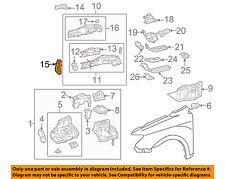 Scion TOYOTA OEM 05-10 tC Fender-Rail Support Right 5711721010