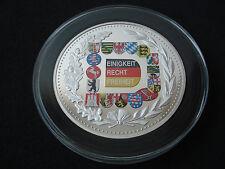 New listing Germany, 5 Oz silver, Brandenburg Gate, Berlin, Einigkeit Recht Freiheit