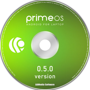 PrimeOS 0.5.0 (ANDROID for PC) 64bit DVD Bootable Operating System