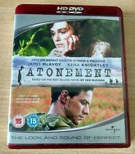 "JAMES McAVOY KEIRA KNIGHTLEY ""ABBITTE"" ATONEMENT HD-DVD DRAMA"
