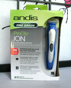 Andis BTF3 ProClip Ion Cord/Cordless Trimmer Blue