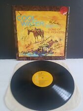 RARE 6 AUTOGRAPHS SONS OF THE PIONEERS COOL WATER NR.MINT CONDITION LP VINYL
