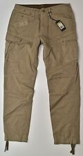 G-STAR RAW Jeans Cargo Pant Tessuto Pantaloni-Rovic tapered-w34 l34 NUOVO!!!