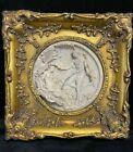 Reproduction Gilt Framed Italian Perfugium Regibus Classical Plaque