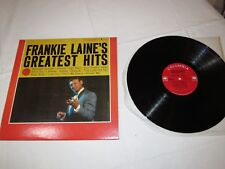 Frankie Laine's Greatest Hits CL-1231 Columbia Jezebel LP Album Record
