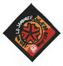 1999 World Scout Jamboree BELGIUM SCOUTS Contingent SCARF N/C (Printed) Patch