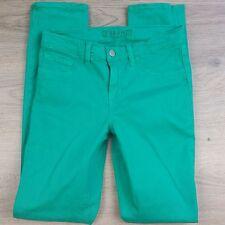 J Brand Women's Jean Emerald Green Skinny Leg Size 25 W27 L30 Cut#8926 (K19)