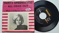 """DUSTY SPRINGFIELD - All Cried Out 1964 POP ROCK NORTHERN SOUL 7"""" Philips"""