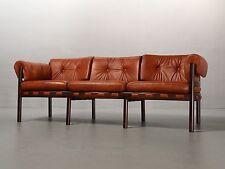 3-Sitzer-Sofa von Arne Norell 1968 für Coja Leder, 3-seater-sofa Vintage 60er