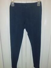 Girl's Casual Leggings pants Lot of 2 Sz S Blue Comfy Girls Leggings Pants EUC