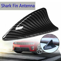 Carbon Fiber Look Car Roof Antenna Shark Fin Cover Aerial Decor Trim UNIVERSAL