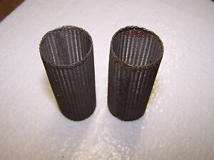 TWO STAINLESS STEEL FUEL  FILTER ELEMENTS   ?? DODGE, FORD, CHEVY, MARMON