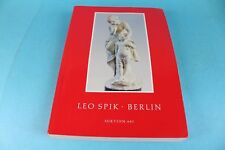 Auktionskatalog Leo Spik, Berlin / Uhren/Miniaturen/Fayence/Silber/Graphik  /S97