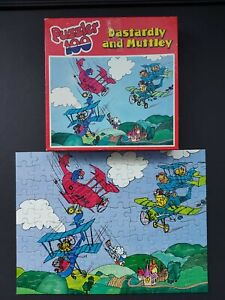 Dastardly And Muttley Jigsaw Puzzle Puzzler 100 Pieces 1978 - HESTAIR PUZZLES